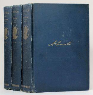 ABRAHAM LINCOLN BIOGRAPHY William Herndon U.S. PRESIDENT CIVIL WAR vtg