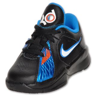 Nike Zoom KD3 Toddler Basketball Shoe black/white