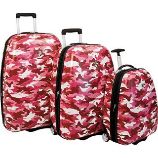 click an image to enlarge heys usa camouflage 3 piece luggage set