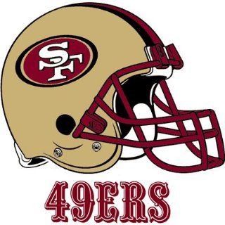 San Francisco 49ers Logo Transfers Rub On Stickers/Tattoos