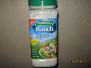 Hidden Valley 16 oz Ranch Salad Dressing N Dipping Mix