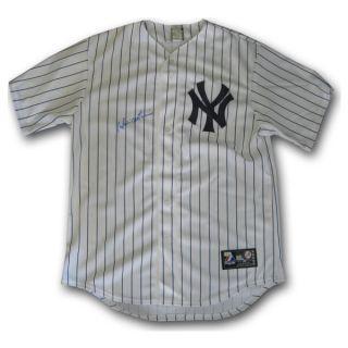 Hideki Matsui Auto Replica Jersey New York Yankees Home Pinstripe MLB