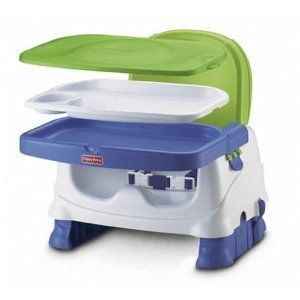 New Fisher Price Deluxe Travel Booster Seat High Chair