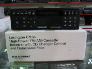 blaupukt lexington cm84 high power radio cassette cd changer
