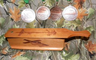 HIGH RIDGE CUSTOM CALLS SHORT BOX WILD CHERRY WOOD TURKEY CALL