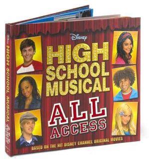 New Disney High School Musical All Access Photo Scrap Book