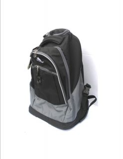 High Sierra Chaser Rolling Backpack 30L in Black Take up to 30 days to