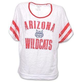 Arizona WIldcats Burn Batwing NCAA Womens Tee Shirt