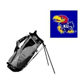 University of Kansas Jayhawks Dual LW II Golf Stand Bag by