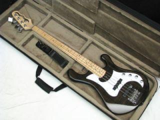 Dean Eric Bass Hillsboro 4 String Active Bass Guitar New Metallic Gold