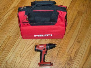 Hilti SFC 18 A Drill Driver Brand New Retail Receipt Full Warranty