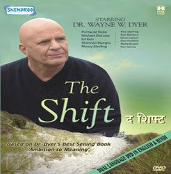 The Shift Dr Wayne Dyer Spiritual Movie DVD English Hindi
