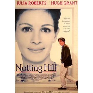 HUGE LAMINATED / ENCAPSULATED Notting Hill Italian Film