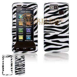 LG Versa VX9600 Cell Phone Black/White Zebra Design