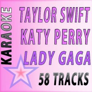 QUIK HITZ KARAOKE CD G 58 HOTTEST HITS 2 TAYLOR SWIFT KATY PERRY LADY
