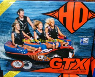 HO Sports GTX 1 2 3 4 Person Towable Water Ski Tube New