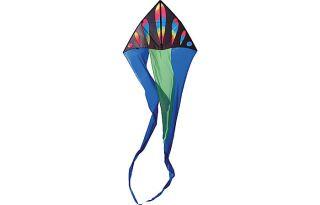 Premier Kites Designs 56 Flo Tail Delta Wavy Gradient Bullets