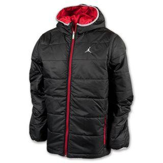 Jordan Garage Mens Reversible Jacket Black/Red