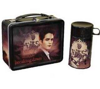 Twilight Saga Breaking Dawn Edward Cullen Family Crest Tin Lunchbox