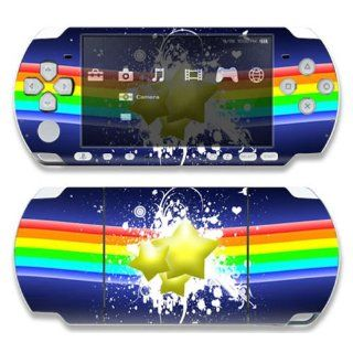 Sony PSP 1000 Skin Decal Sticker  Rainbow Stars