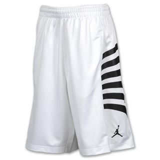 Jordan AJ12 Rays Mens Basketball Shorts White