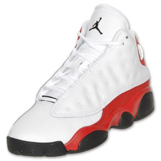 Boys Preschool Air Jordan Retro 13 white/black/v