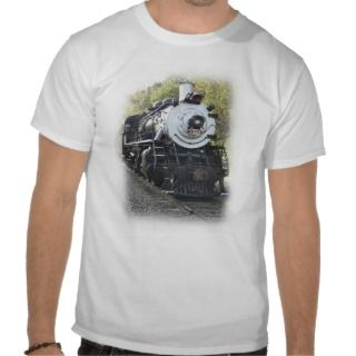 Steam Locomotive   Susquehanna Train 142 Shirt