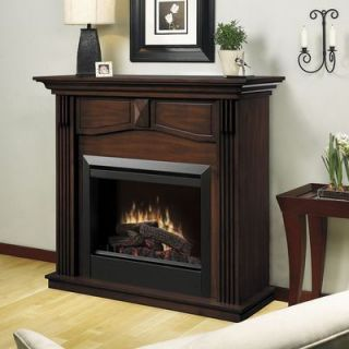 Dimplex DFP4765BW Holbrook Electric Fireplace Mantel/Insert w/ Remote
