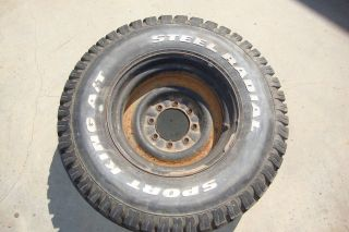 """Ford F250 Wheel and Tire 90 16 5"""" Sport King"""