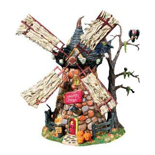 Department 56 Snow Village Haunted Windmill Home