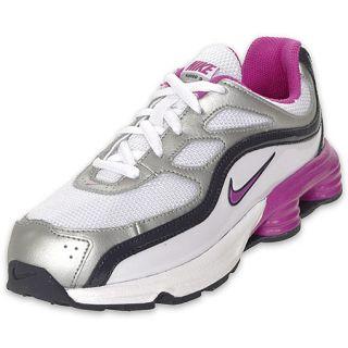 Nike Preschool Shox Turbo 9 Running Shoe White
