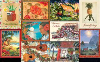 12 Hawaiian Holiday Card Hawaii Christmas Season Flower