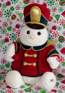 Musical Animated Plush Snowden Bandleader 19 Plays Christmas Songs