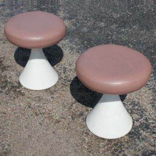 hollen inc houston tx pair vintage hollen saarinen style stool off