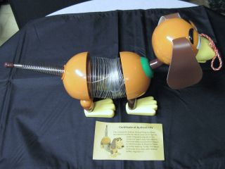 Slinky Dog Pull Toy – Collectors Edition Retro Style Box – Regular