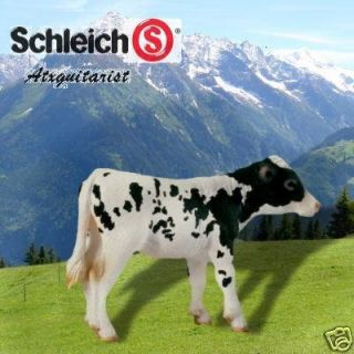 Schleich Farm Life Holstein Calf Cow 13634 Brand New