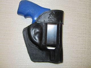 Ruger LCR Formed Leather Revolver Holster