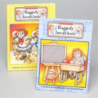 Raggedy Ann Andy 375809 Raggedy Ann Andy Coloring Book