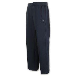 Nike Classic Fleece Open Hem Mens Pants Dark