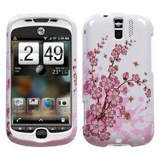 HTC MYTOUCH SLIDE 3G PINK SPRING FLOWER CHERRY BLOSSOMS