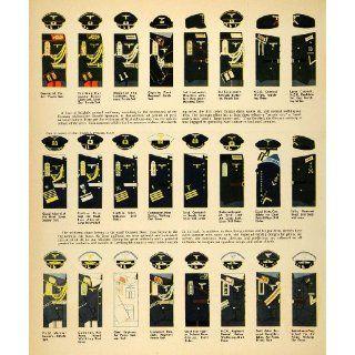 1939 Print Germany Uniform Third Reich World War II