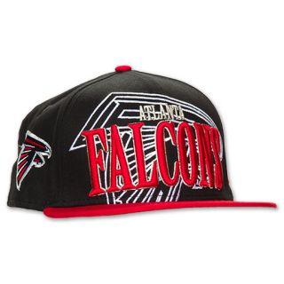 New Era Atlanta Falcons NFL Logo Through Snapback Hat