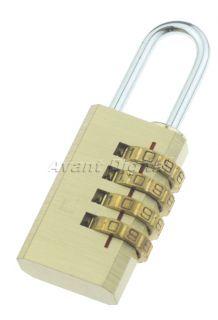 networking 4 digits number password code lock combination padlock
