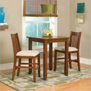Home Styles Furniture Hanover Cherry 3 PC Bistro Pub Set