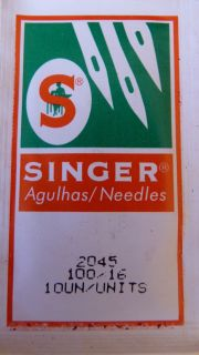 30 EACH SINGER 2045 HOME SEWING MACHINE NEEDLES 10 EACH SIZE 14