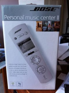 Personal Music Center II Home Theater System Remote Control