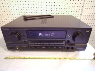 Technics SA GX670 Home Theater Stereo Receiver 280 Watt Works Great NR