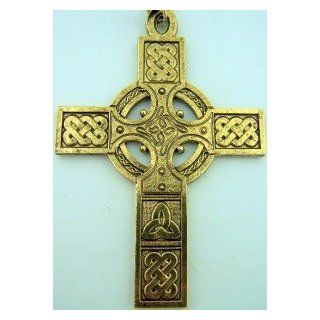 Clergy Pectoral Bishops Cross 30 Chain Celtic Irish Design Bronze 30