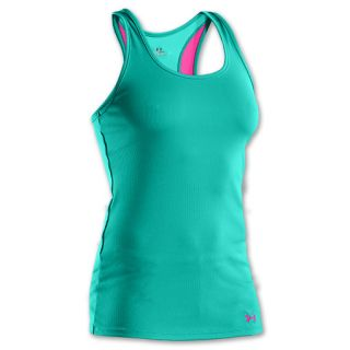 Womens Under Armour Victory Tank Jade River