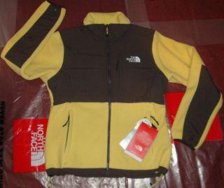 New The North Face Womens Denali Fleece Jacket Small 179 Hominy Yellow